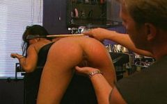 Spanked ans ass fucked