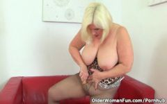 Young souled granny sucking and fucking hard cock 5
